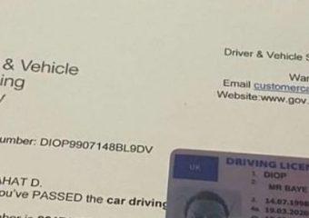 Get full UK driving licence