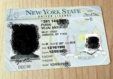 Order New York driver's license